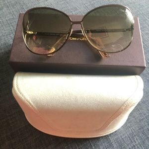 Brand new in box!! Tom Ford Clemence sunglasses!!